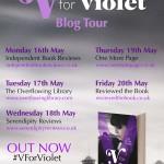 V For Violet blog tour banner